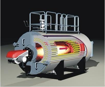 全自动燃油燃气常压热水锅炉