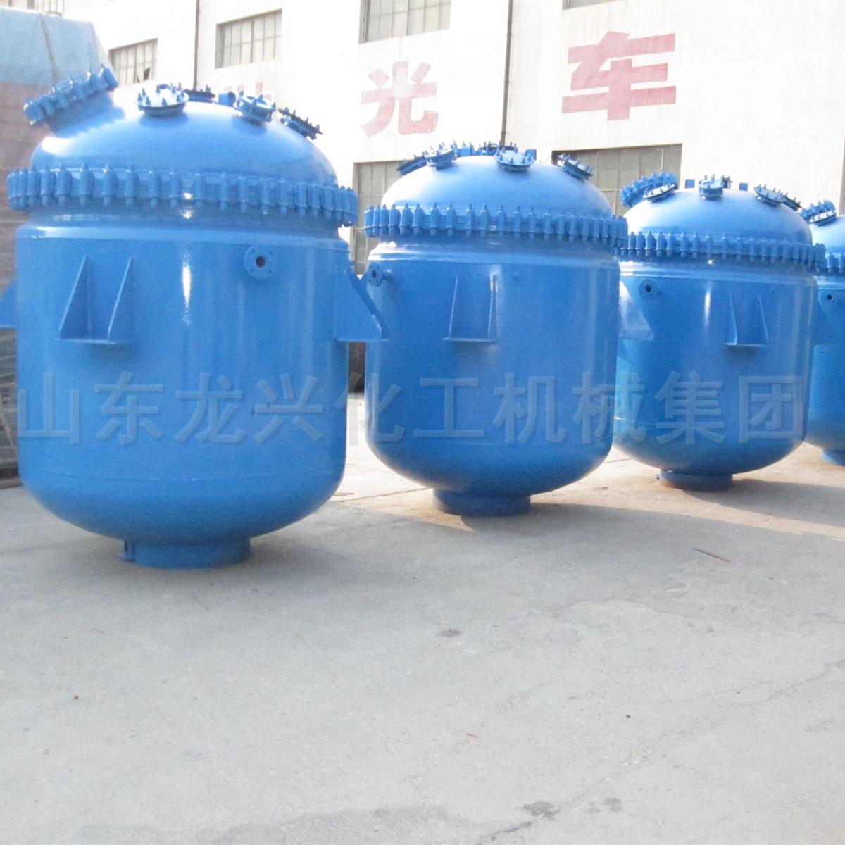 蒸汽加热搪瓷釜安全可靠